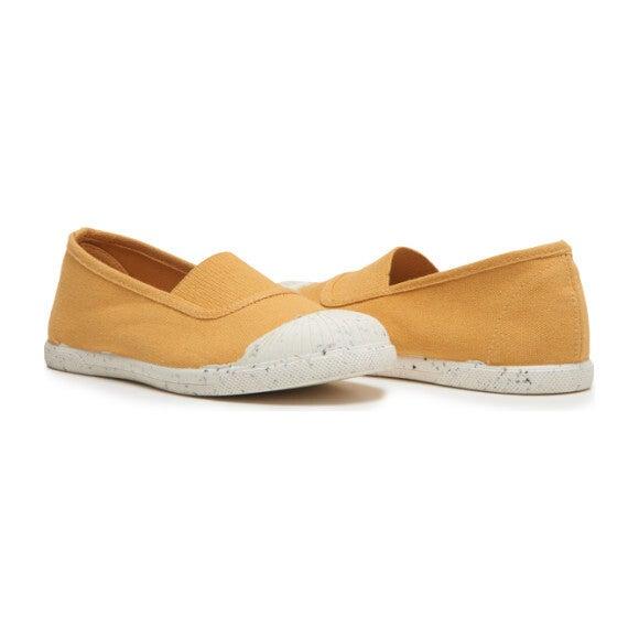 Elastic Slip-On Sneaker, Marigold