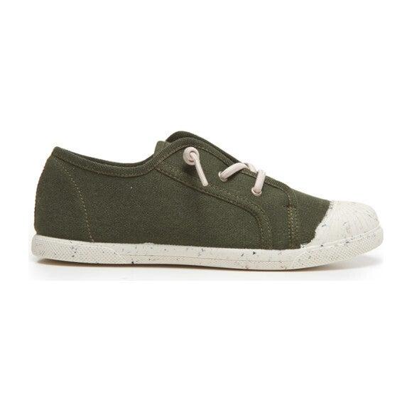 Elastic Laces Sneaker, Green
