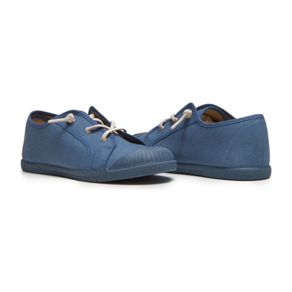 Elastic Laces Sneaker, Indigo