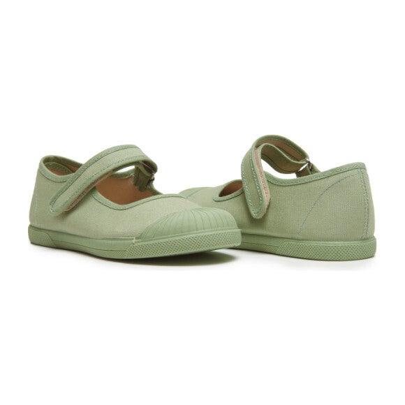 Canvas Mary Jane Captoe Sneakers, Leaf