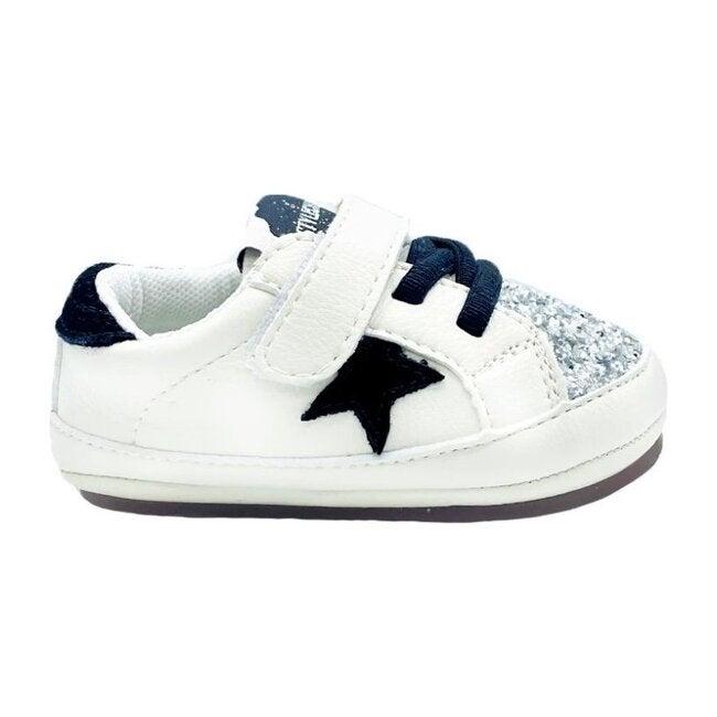 Jill Baby Kicks, White & Sparkle