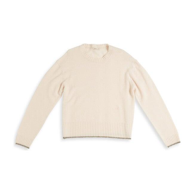 Women's Charlee Sweater, Vanilla