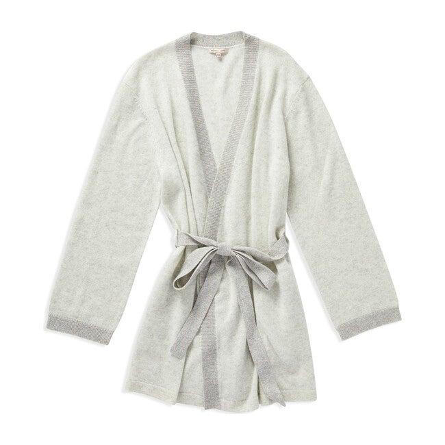 Women's Bella Robe, Pale Grey