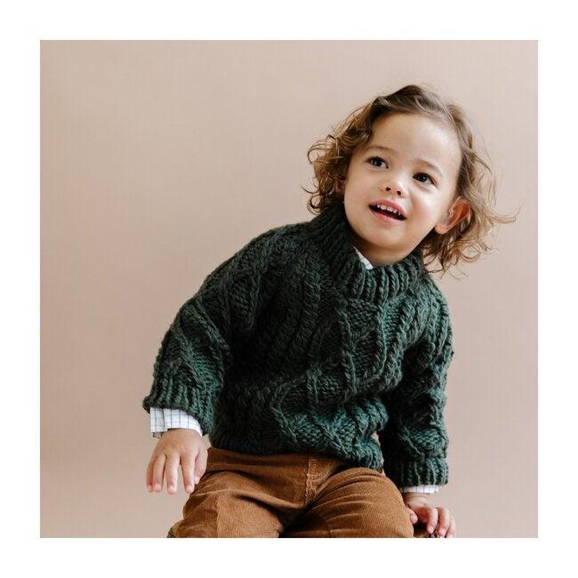 Fisherman Sweater, Green