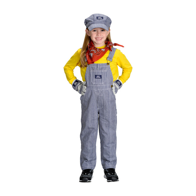 Jr. Train Engineer Suit with Cap, Gloves and Bandana