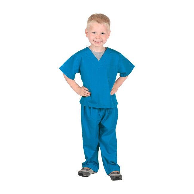 Jr. Doctor Scrubs, Blue