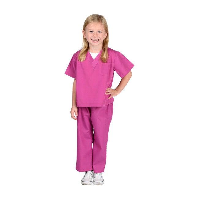 Jr. Doctor Scrubs, Pink