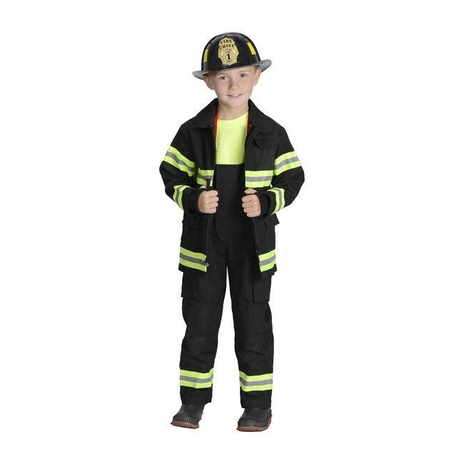 Jr. Firefighter Suit, Black