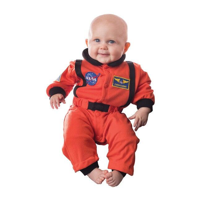 Jr. Astronaut Romper, Orange