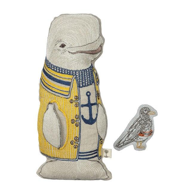 Beluga Whale Pocket Doll