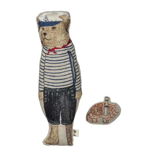Salty Dog Pocket Doll