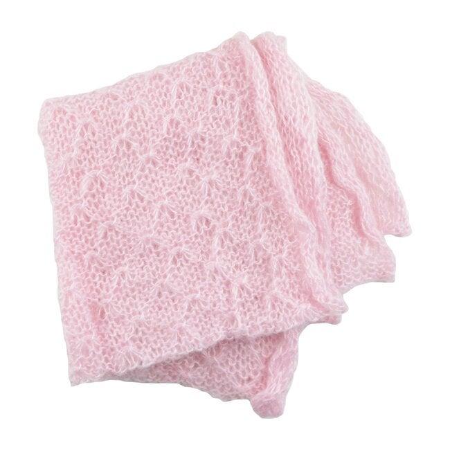 Mohair Wrap, Pink