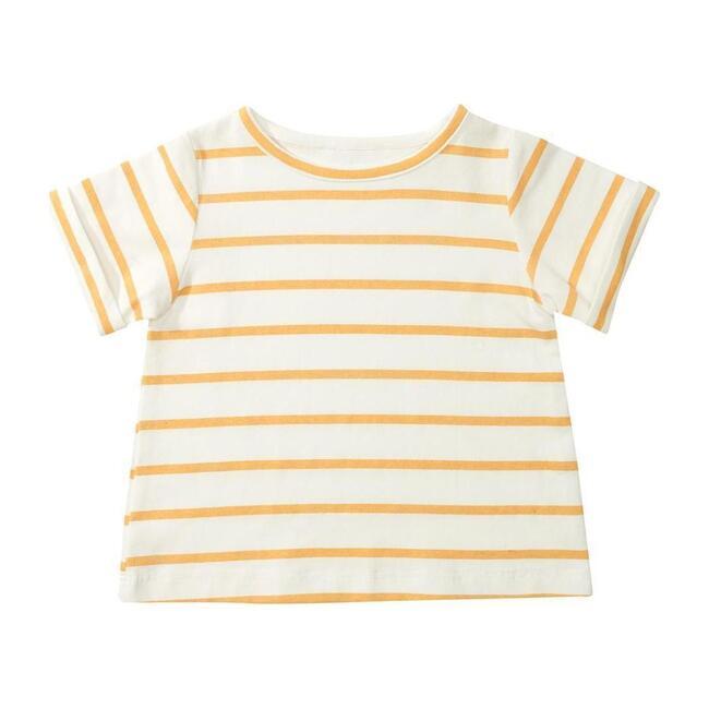 Organic Yellow Stripe T-Shirt