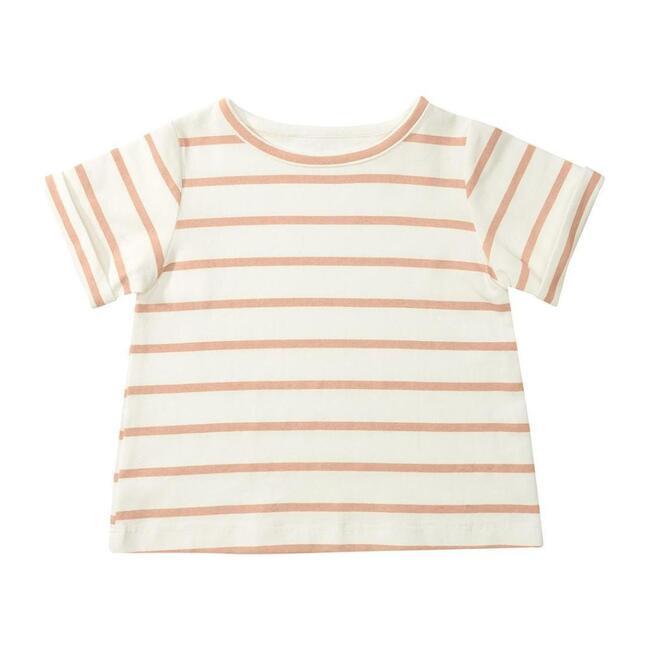 Organic Pink Stripe T-Shirt
