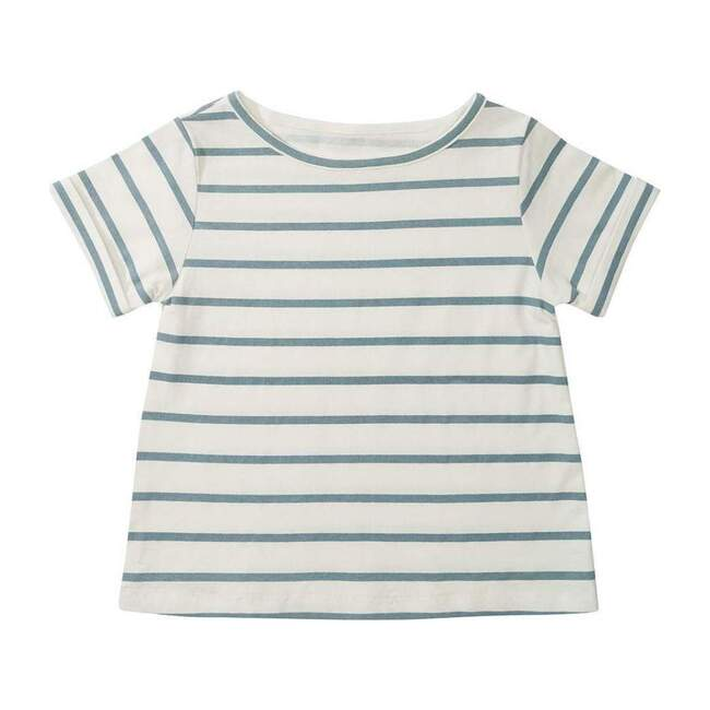 Organic Blue Stripe T-Shirt
