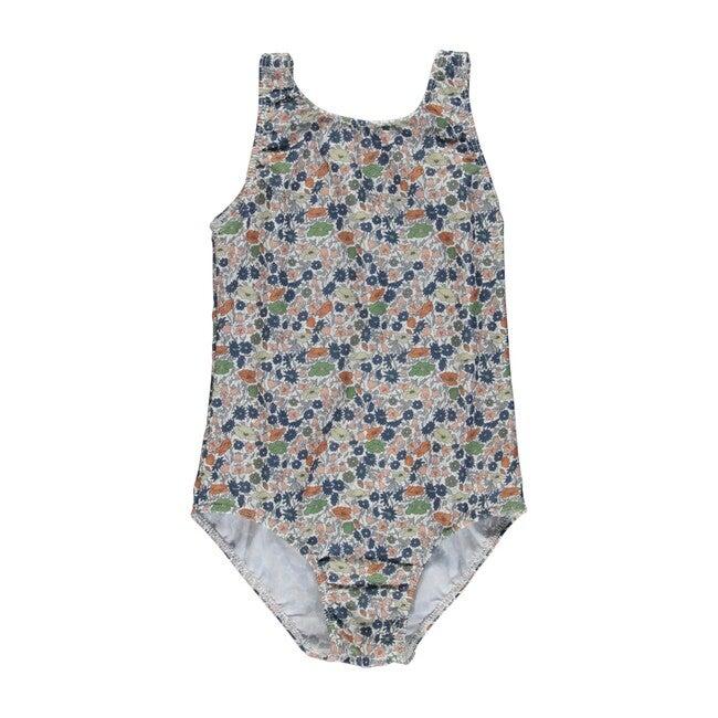 Poppy Swimsuit Liberty Flowers