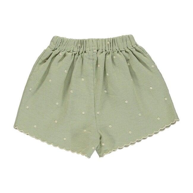 Olivia Shorts Natural Green