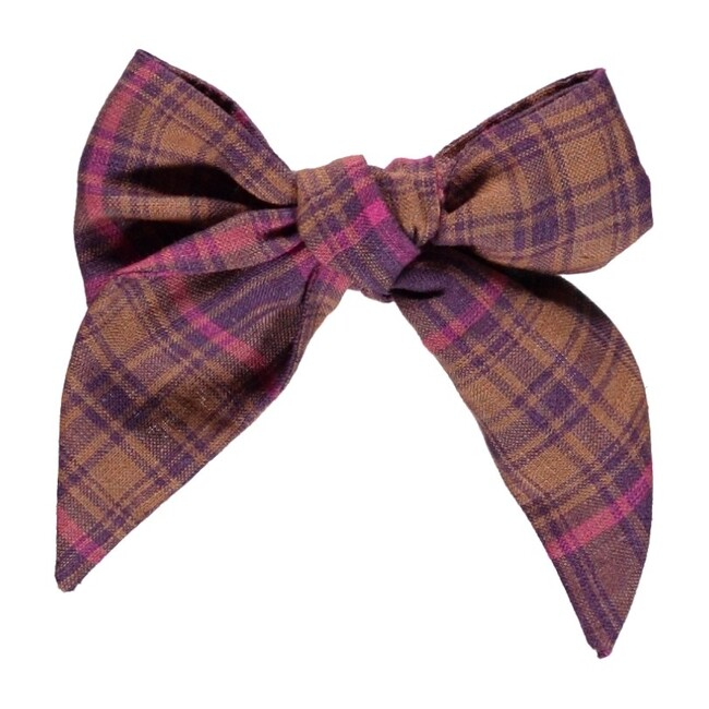 Valentina Bow Nostalgia Rose Checks