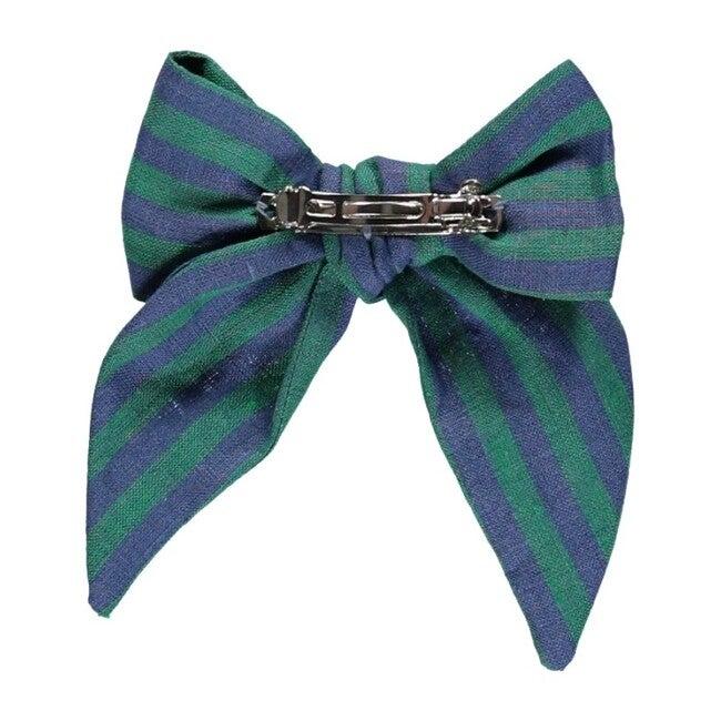 Valentina Bow Nostalgia Green Stripes