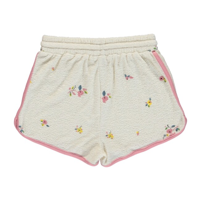 Bea Shorts Natural Flowers