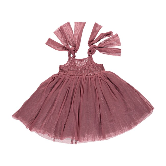 Chloe Dress Deco Rose Tulle