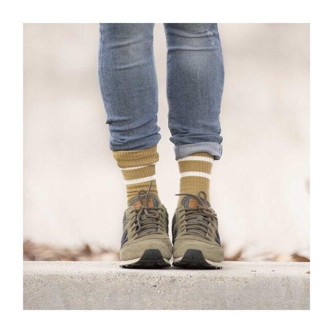 Socks, Olive