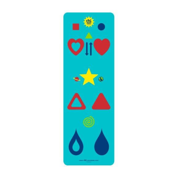 Chi Yoga Mat, Aqua