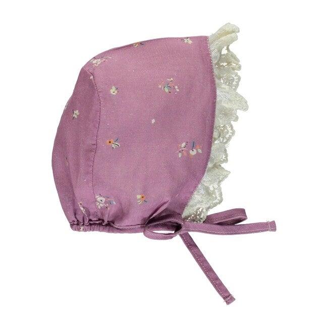 Adele Bonnet Purple Flowers