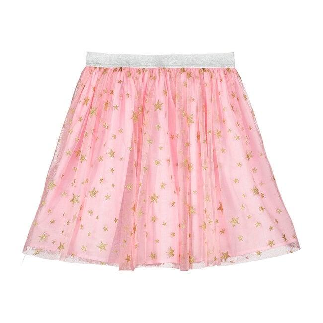 Bop Pink Star Tulle Girls Party Skirt