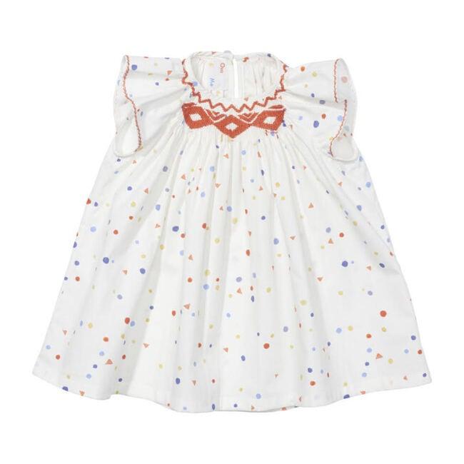Betty Baby Dress, Signature Dot