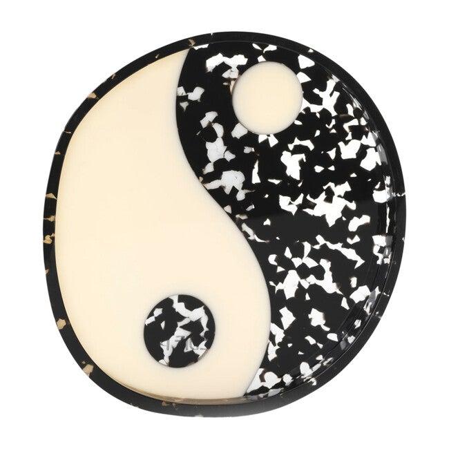 Round Acrylic Catchall, Yin Yang