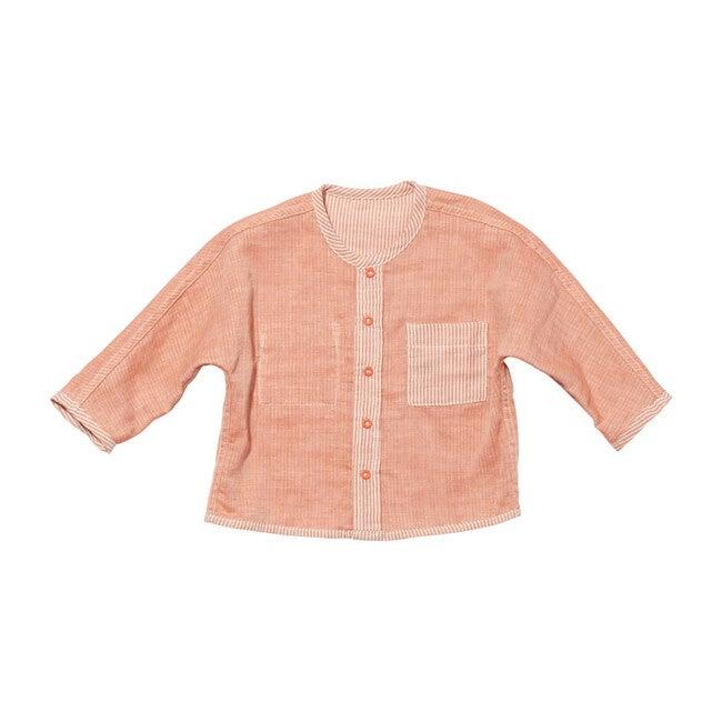 Jack Lee Baby Shirt, Melon Stripe