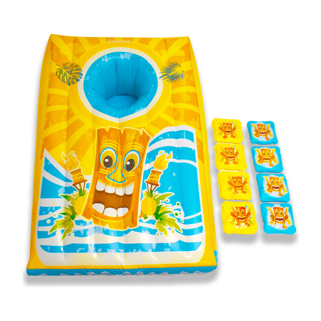 Island Toss Floating Cornhole Game