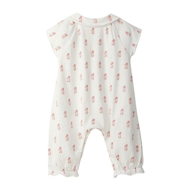 Jumpsuit, Pink Floral Print
