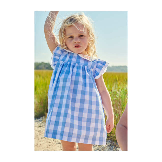 Kitt Dress, Skye Check