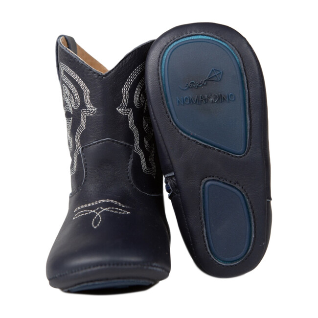 Baby Cowboy Boot, Blue Plano