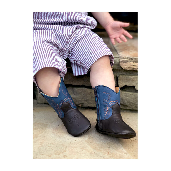 Frisco Boots, Blue