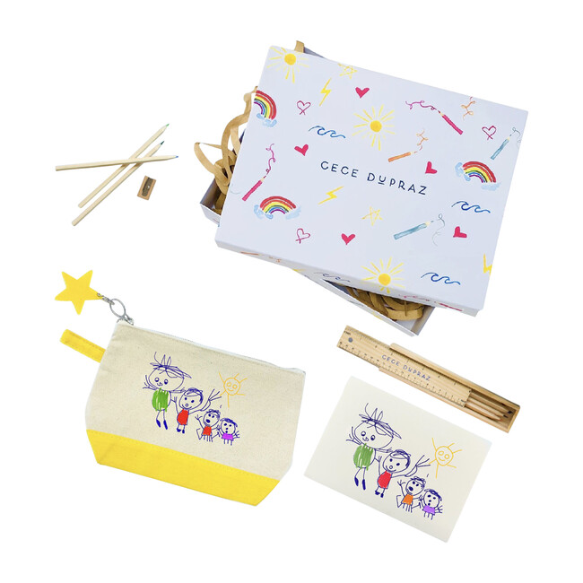 Draw Your Own Zipper Pouch