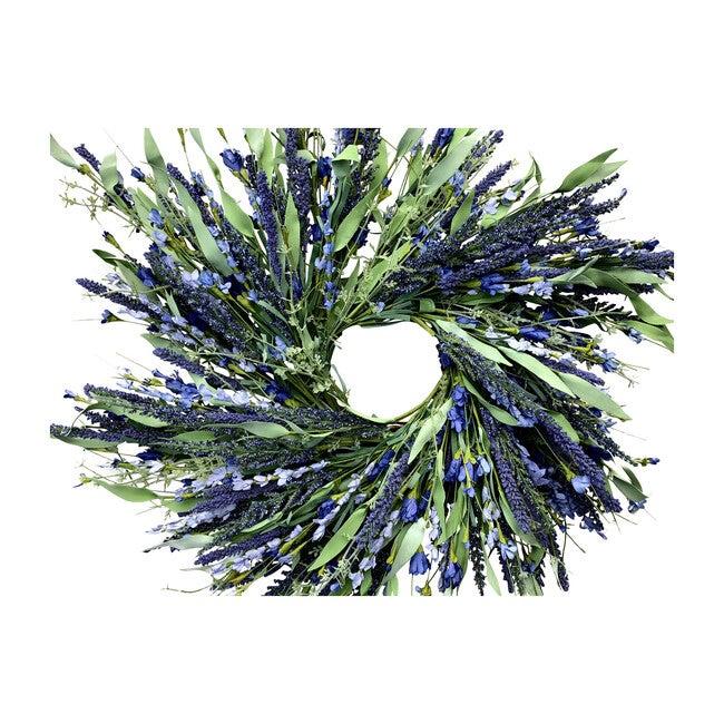 Spring Wreath, Lavender Wild Flower