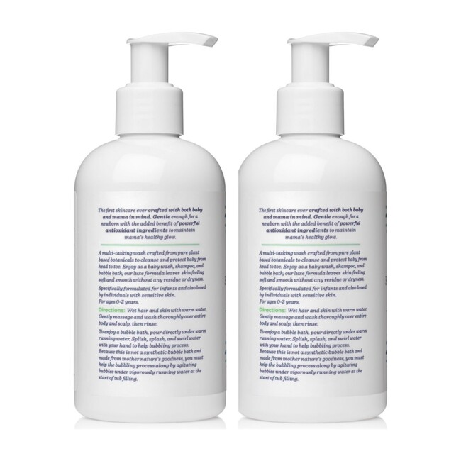 Sweetpea & Me 3-in-1 Baby Cleanser, Shampoo & Bubble Bath Duo