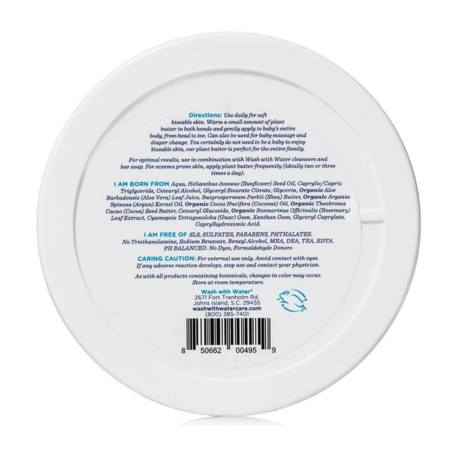 Fragrance Free Plant Body Butter