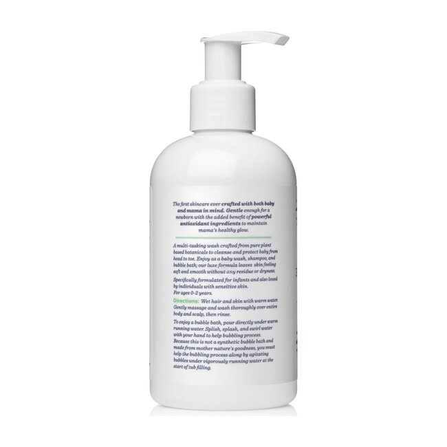 Sweetpea & Me 3-in-1 Baby Cleanser, Shampoo & Bubble Bath