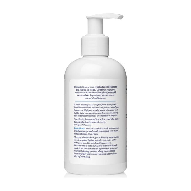 Fragrance Free 3-in-1 Baby Cleanser, Shampoo & Bubble Bath