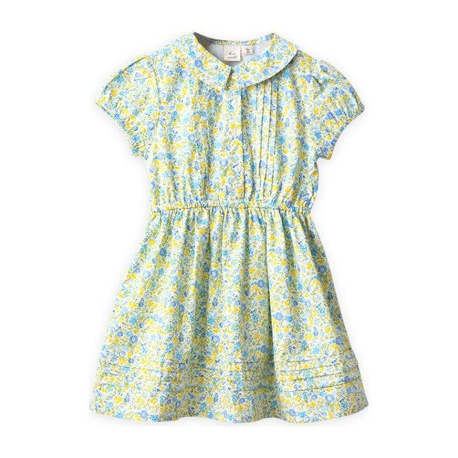 Sawyer Dress, Yellow Primrose