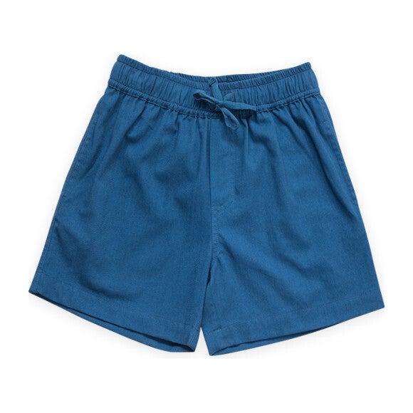 Pull on Straight Shorts, Navy