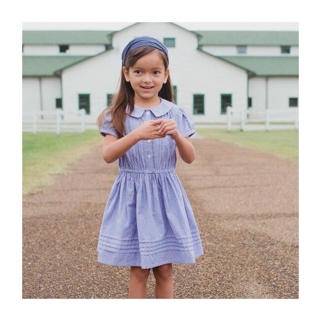 Sawyer Dress, Country Blue Check