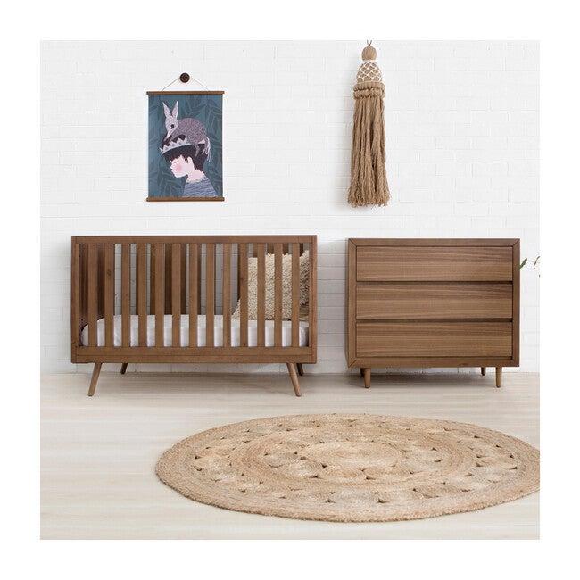 Nifty Timber 3-In-1 Crib, Walnut