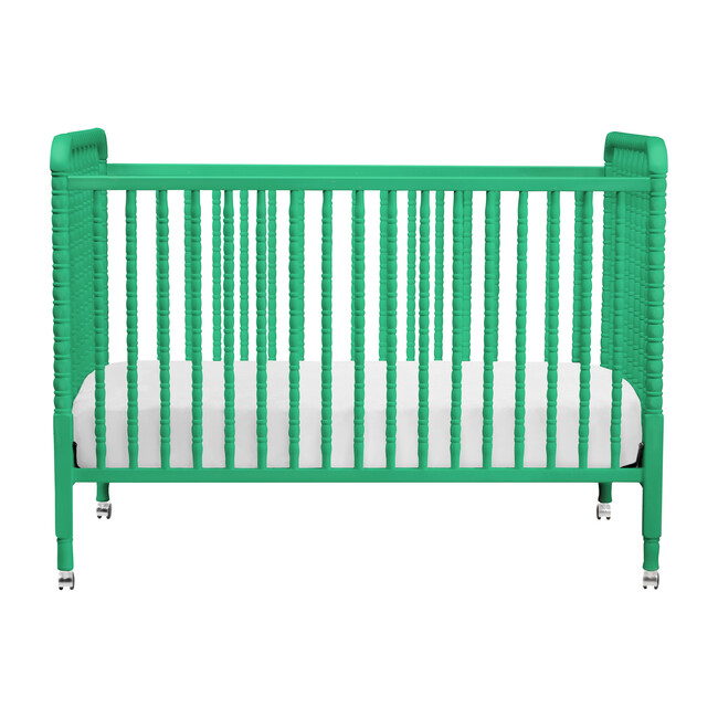Jenny Lind 3-in-1 Convertible Crib, Emerald