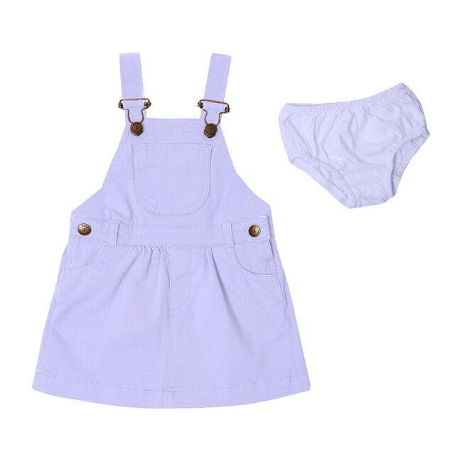 Lilac Denim Dress