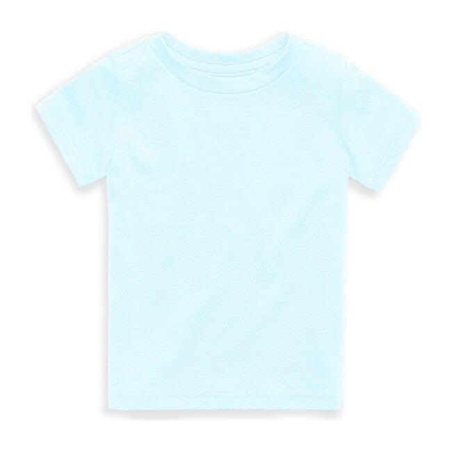 Organic Solid Short Sleeve Tee, Aqua